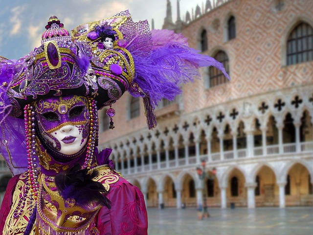 masks, mask of venice, carnival venice