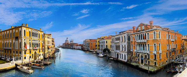 venice, architecture, channel
