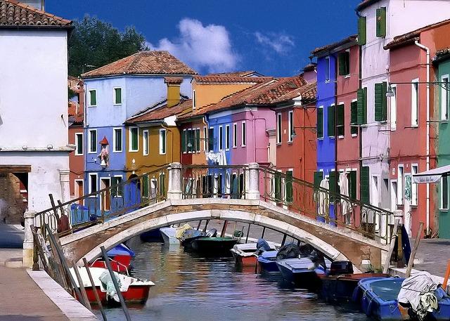 venice, canal, bridge