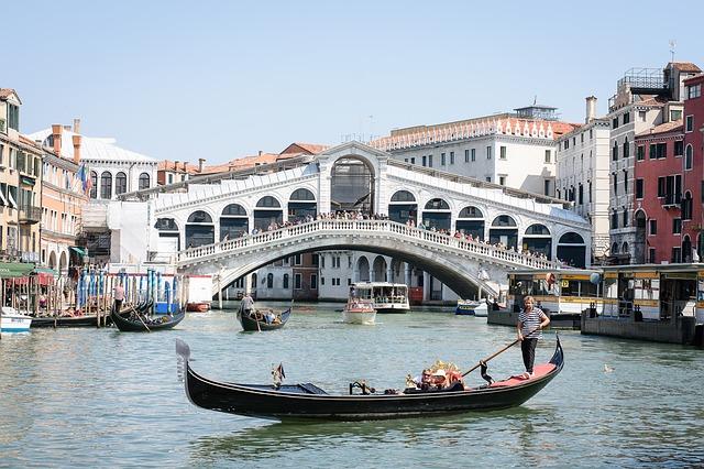 venice, canale grande, rialto bridge