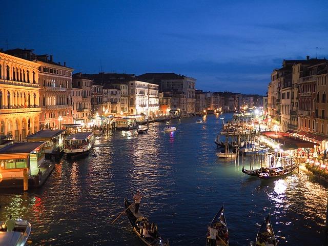 venice, grand canal, italy
