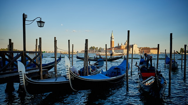 venice, grand canal, water