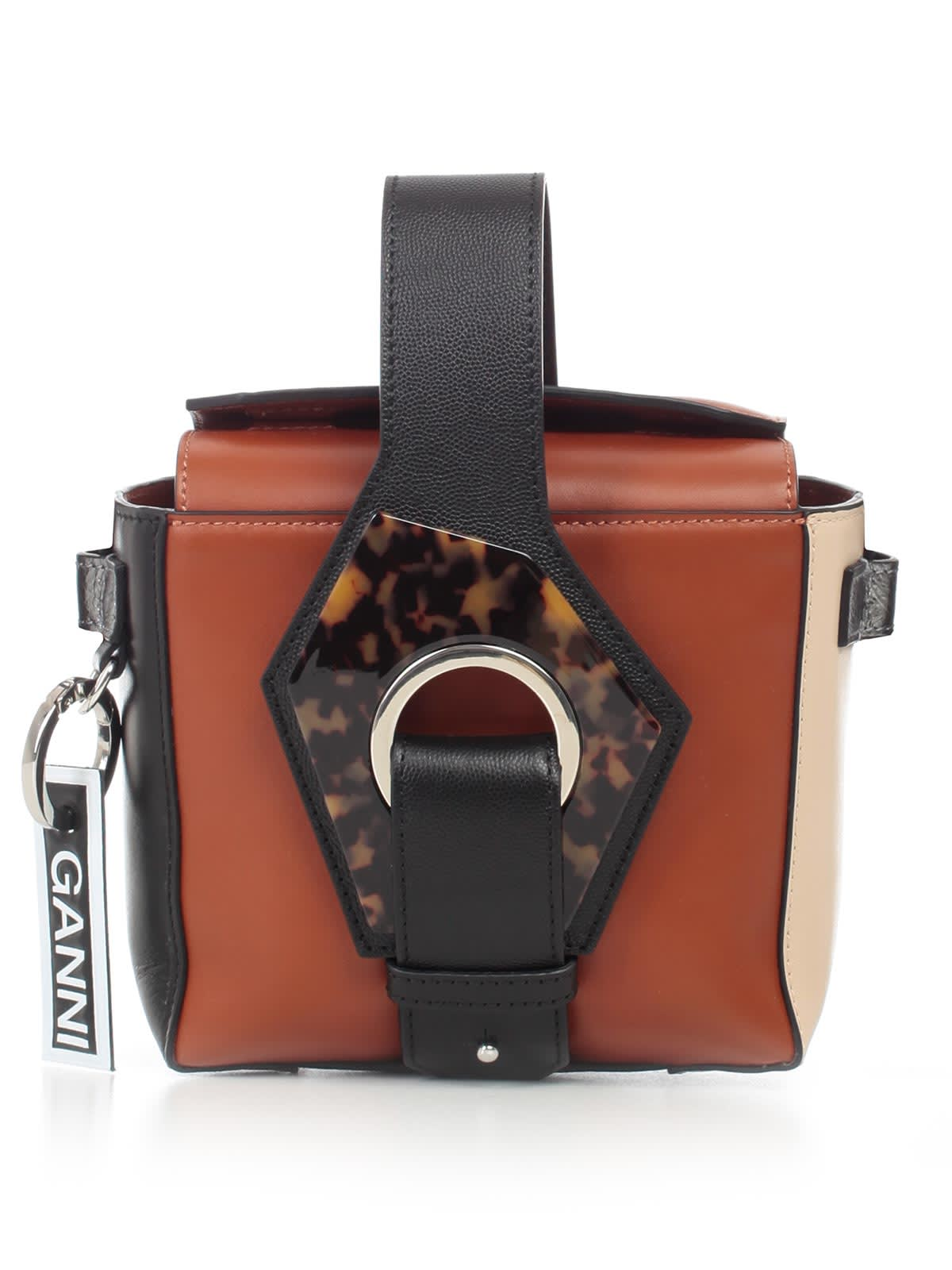 Ganni Bag Leather Satchel