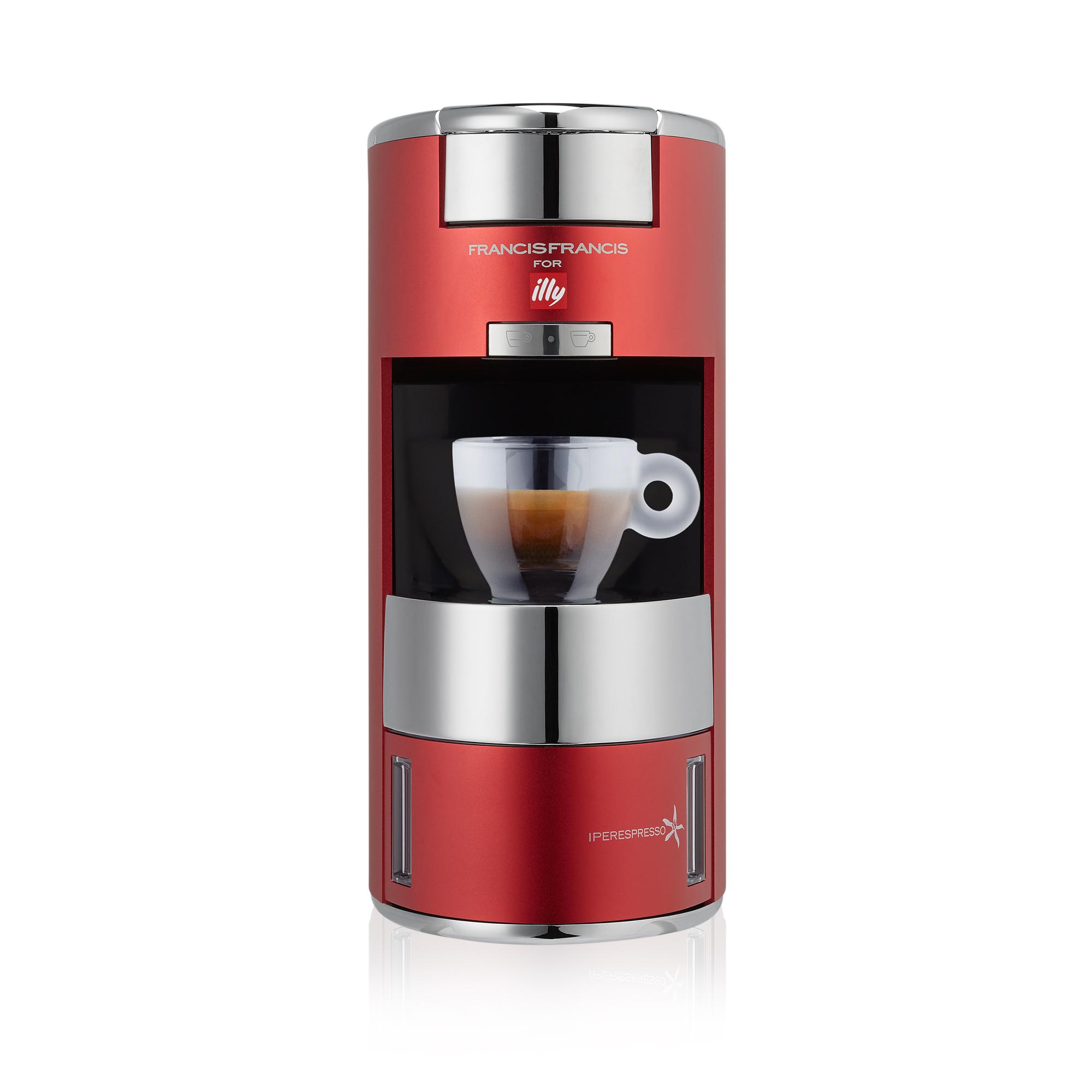 illy X9 iperEspresso Machine Red