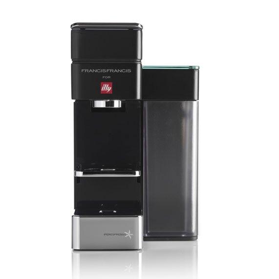 illy Y5 iperEspresso Espresso & Coffee Machine, Bluetooth, Amazon Dash Replenishment Enabled