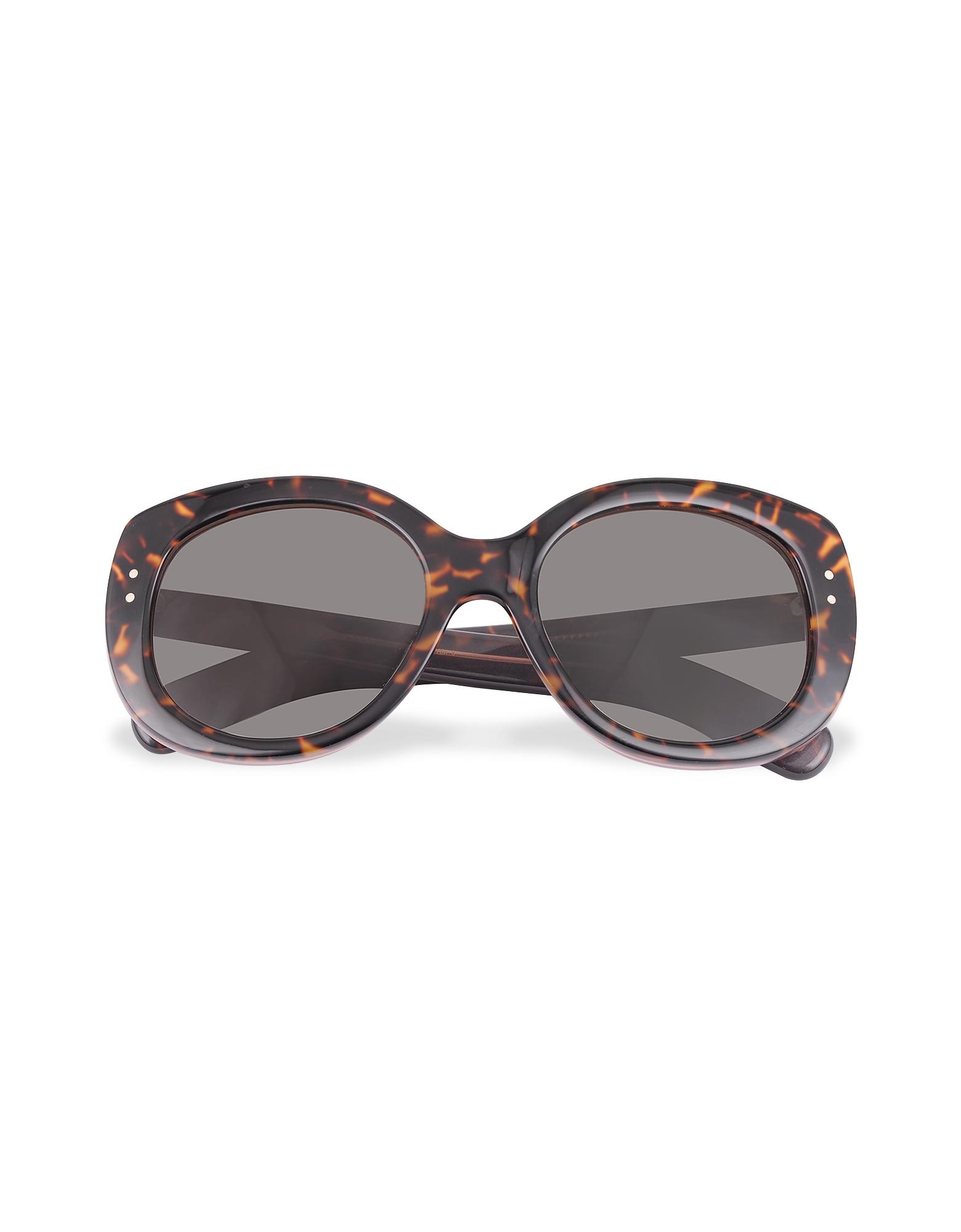 Marc Jacobs Designer Sunglasses, Vintage Inspired Round Frame