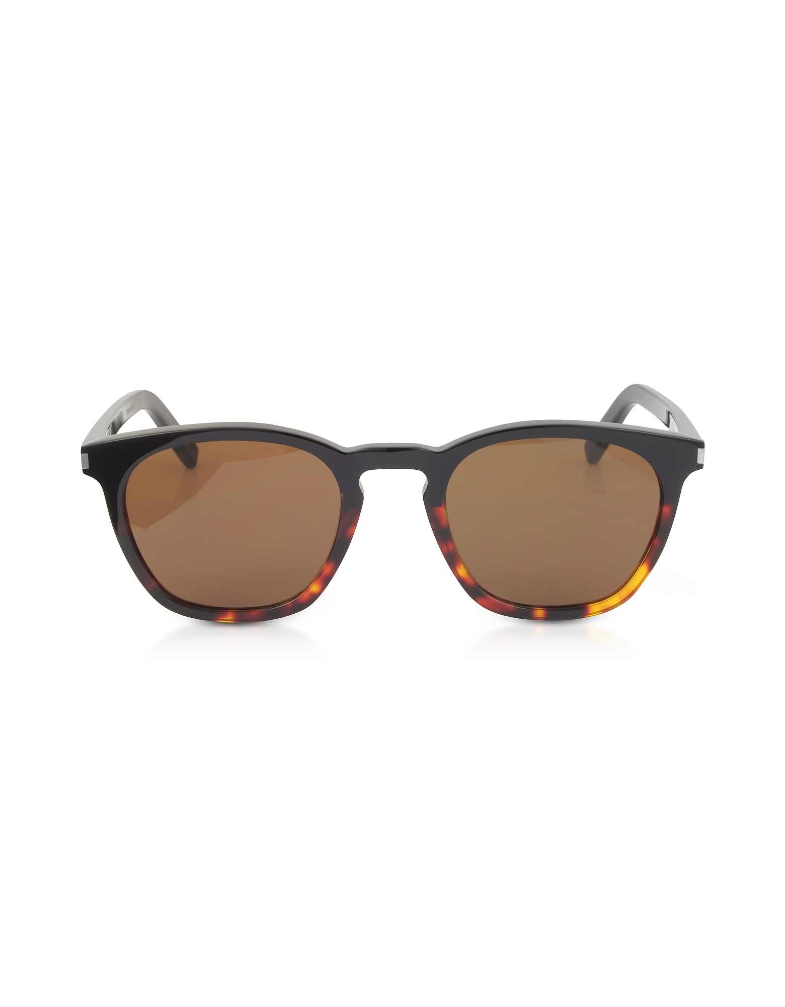 Saint Laurent Designer Sunglasses, SL 28 Two-Tone Acetate Frame Sunglasses